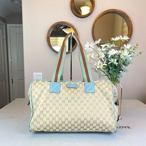 Gucci GG Logo Supreme Travel Bags Satchel